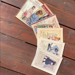 Complete Set of 6 Samantha American Girl Books 📖